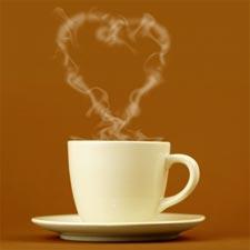 Любоаь и кофе