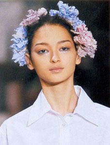 Макияж от Louis Vuitton
