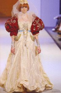 Свадебная мода Christian Lacroix