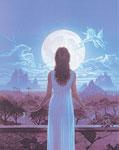 Луна и серебро