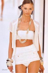 Накидки от Chanel